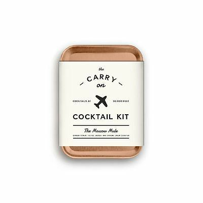 The Carry On Cocktail Kit The Moscow Mule By W&P Designs New Great Gift
