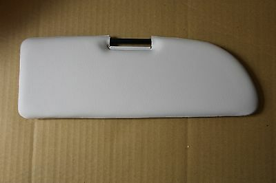 Classic Fiat 500 600 126 Sun Visor White Cream Beige Colour Brand New