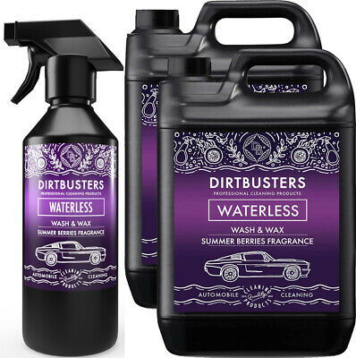 Premium Summer Berries Waterless Car Wash and Wax Cleaner 10.5 L