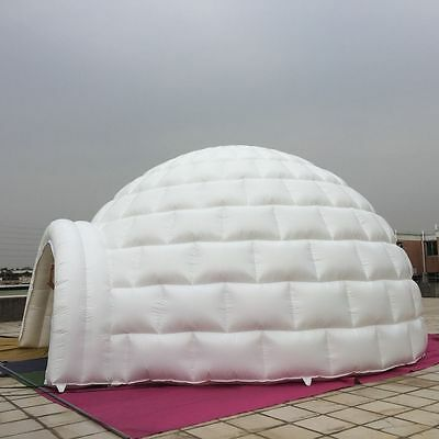 20' 6M Inflatable Promotion Advertising Events Igloo Dome Tent /Blower