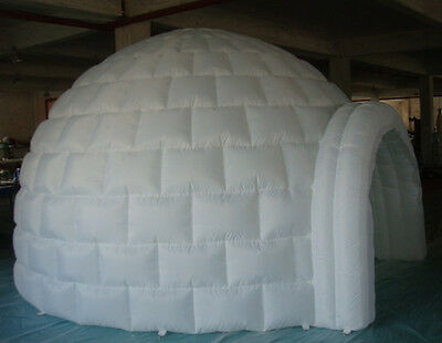 13' 4M Inflatable Promotion Advertising Events Igloo Dome Tent 0.4PVC /Blower