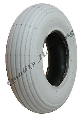 1 brand new Grey Mobility Scooter tyre 200x50 ribbed tire non marking wheelchair