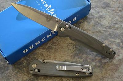 Benchmade 485 Valet Axis Lock Gentleman's Knife w/ M390 Blade