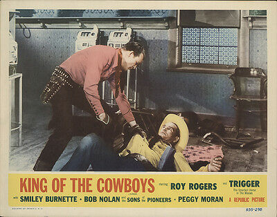 King of the Cowboys 1955 Original Movie Poster Western