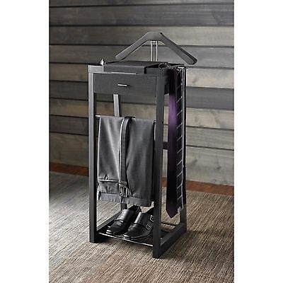 Valet Stand Suit Hanger Clothing Rack Organizer Closet Kenneth Cole Mens Gift
