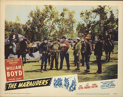 The Marauders 1947 Original Movie Poster Action Adventure Mystery