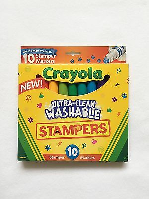 Crayola Ultra Clean Washable Stamper Markers pack of 10