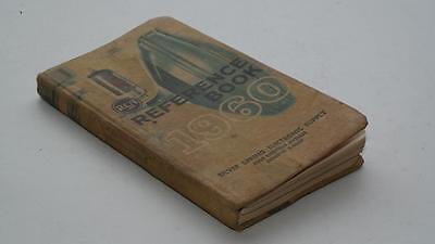 Vintage 1960 Rca Reference Book Tubes Semiconductors Batteries Parts Tv Etc...