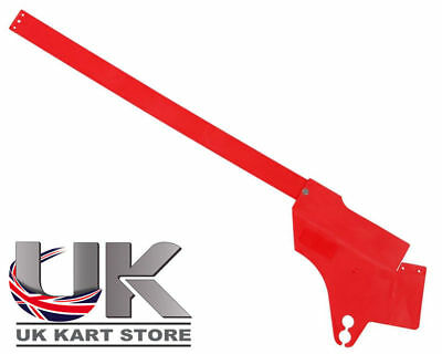 Chain & Finger Guard Red UK KART STORE