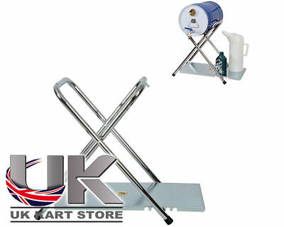 Fuel Can Stand With Table UK KART STORE