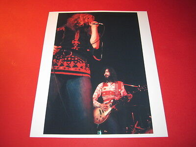LED ZEPPELIN ROBERT PLANT 10x8 inch lab-printed glossy photo P/4038