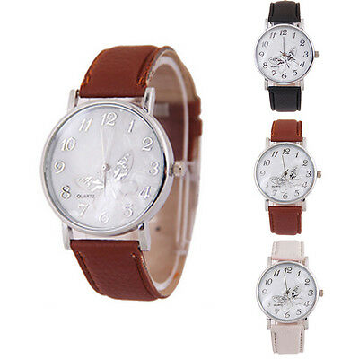 Dress Watch Womens Watch Fashion Lady Quartz Watch Casual Wrist Watch Butterfly
