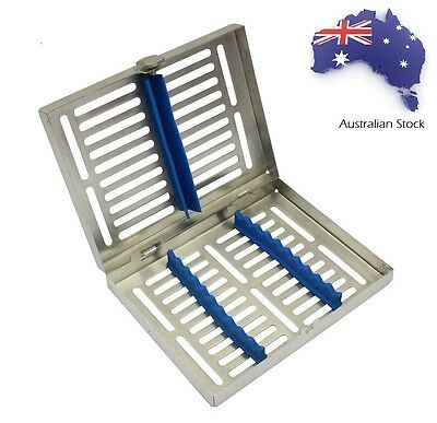 Sterilization Cassette Tray for Surgical Dental Veterinary Use 10 Instruments