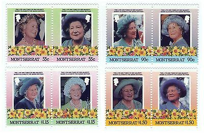 British Royalty Queen Mother set of 8 / MNH Stamps
