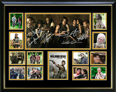 The Walking Dead Limited Edition Signed Framed Memorabilia