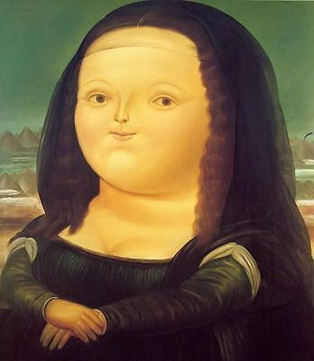 """Boterism Oil Painting Reproduction -Mona Lisa 16""""x20"""""""