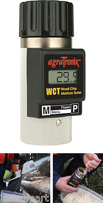 Agratronix WCT-1 Portable Wood Chip Moisture Tester WCT1
