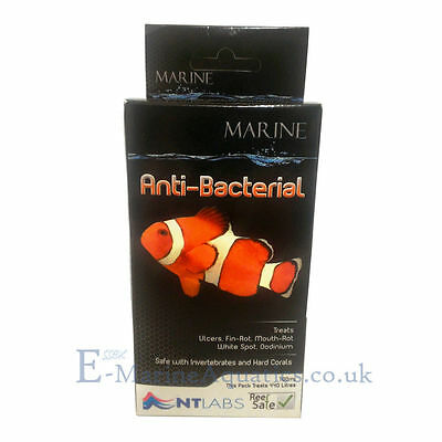Nt Labs Anti-Bacterial 'reef Safe' Marine (Finrot, White Spot, Oodinium)