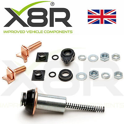 For Land Rover Discovery Defender TD5 2.5 Diesel Starter Motor Repair Fix Kit