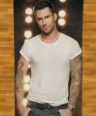 Adam Levine Maroon 5 BEACH TOWEL NEW Sunday Morning She Will Be Loved Maps