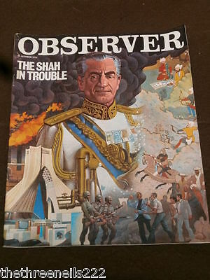 Observer - Oct 22 1978 - The Shah Of Iran