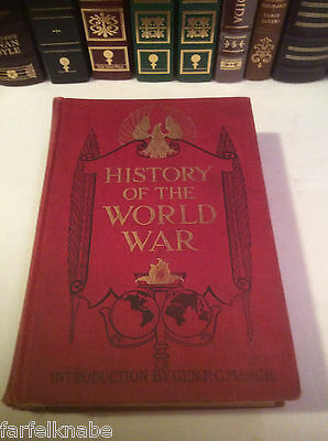 History of the World War by Francis A. Marsh (1919) WWI