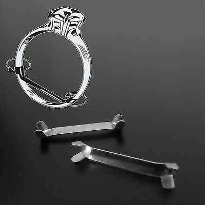 Solid 925 Sterling Silver Ring Clip Size Adjuster Reducer Re-Sizer