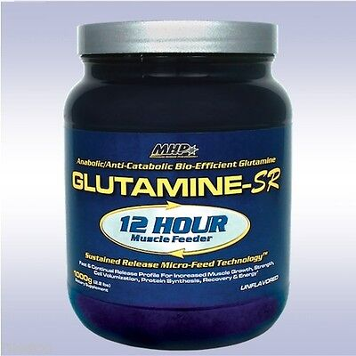 MHP GLUTAMINE-SR (1000 GRAMS / 167 SVGS) anabolic sustained release amino acid