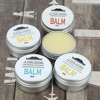 Beard Balm | 4 x 30ml Gift Multi-pack Set | Soften and Condition | 4 Scents