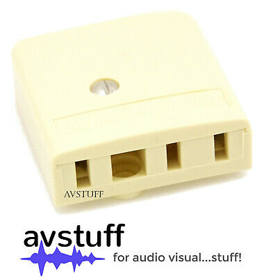 Telephone Wall Mount Socket Australian 610 Phone Connector