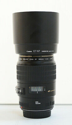 Canon EF 100mm F/2.8 USM Lens for canon