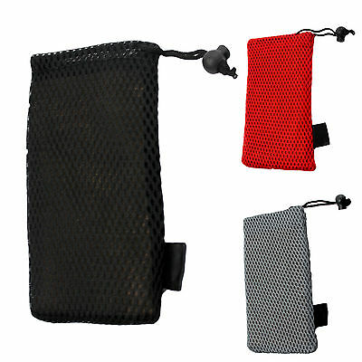A Handy Soft Mesh Drawstring Glasses Case Pouch Sunglasses Spectacles