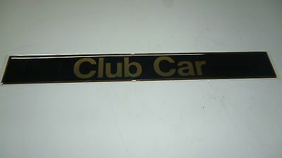 Name plate for Club Car DS oem 101414801