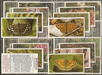 Players Doncella-Full Set- British Butterflies - Exc+++