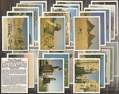 Players Tom Thumb-Full Set- Wonders Of Ancient World - Exc+++