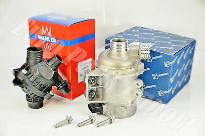 BMW Electric Water Pump + Thermostat + Mounting Bolt Set 100% Made in Germany