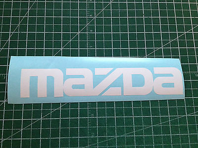 "MAZDA 9""x1.60"" Decals Sticker Logo Emblem Car Window Bumper Door JDM Vinyl"