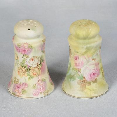 Royal Bayreuth Rose Tapestry Shakers - Ca. Early 1900's