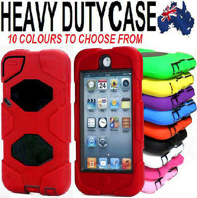 4 IN 1 Heavy Duty Tough Impact Case Cover for Apple iPod Touch 6 6th Gen