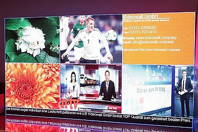 coupon for video wall panels from Company Videowall GmbH 100€