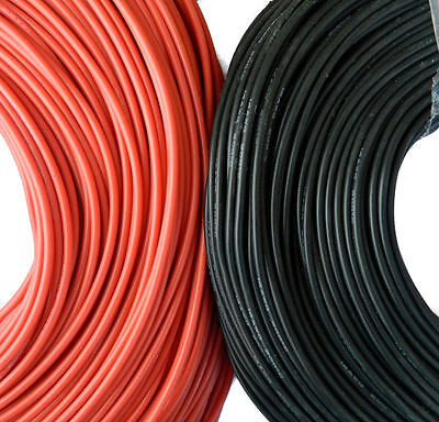 Flexible Soft Silicon Wire Cable 14 AWG Red, Black for Radio Control Boats