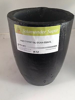 A12 Salamander Super Clay Graphite Melting Crucible 18 Kg Brass Capacity