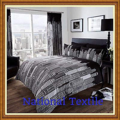 SKY LINE Duvet Sets Or With Fitted Sheet Or Curtains or Full Set