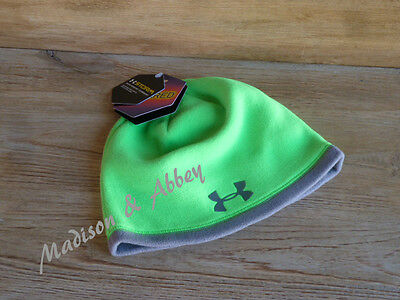 Under Armour ~ Boys ~ Coldgear Infrared Storm Beanie ~ Youth One Size ~ NWT