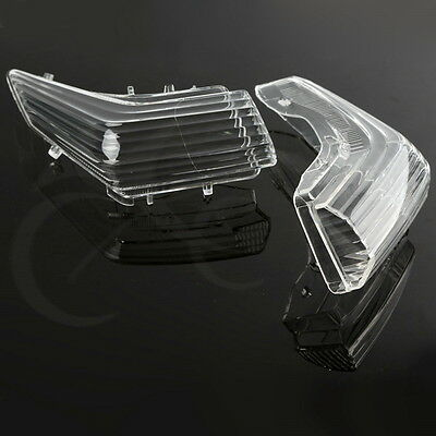 2PCS Clear Turn Signal Lens FOR SUZUKI GSR 400 GSR 600 GSR400/600 06-12 07 08