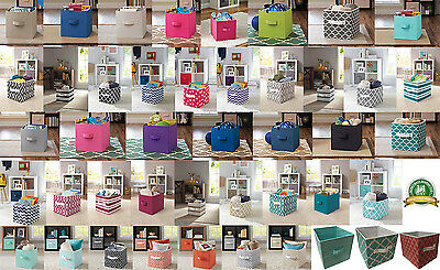 Collapsible Fabric Storage Bin Cube Set of 2, Kids Room Toy Home Organization