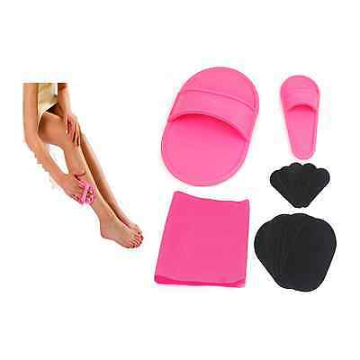 Hair Remover Removal Remove Body Facial Skin Mit Face Legs Magic Buffer New Pack