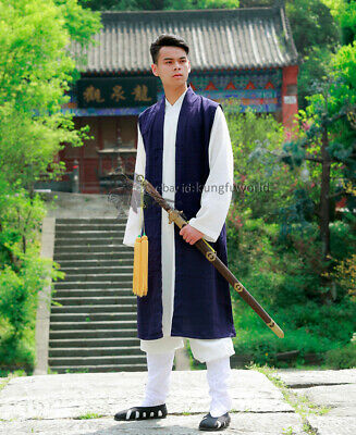 24 Colors Long Vest for Kung fu Tai Chi Uniforms Martial arts Wing Chun Suit