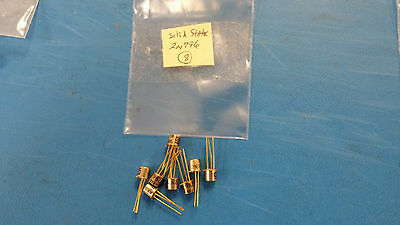 10x BC179C PNP Small Signal Transistor TO-18 Metal CAN