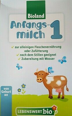 5-Boxes Holle Organic lebenswert Stage-1 First infant Milk Priority Ship 2/2020
